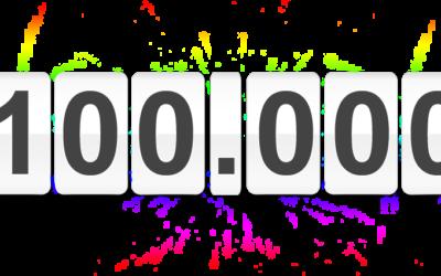 Hemos superado las 100.000 participaciones